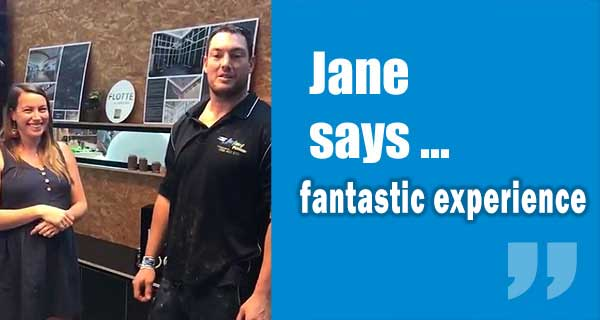Jane Customer Review from Yeronga
